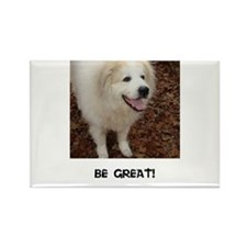 Be Great! Rectangle Magnet