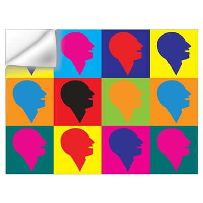 Speech-Language Pathology Pop Art Prin Wall Decal