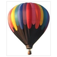 Helaine's Hot Air Balloon 1 Canvas Art