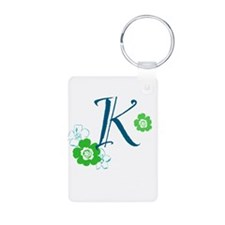 K Letter Keychains