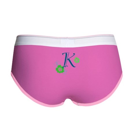 K Letter Women's Boy Brief