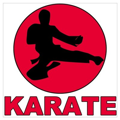 Karate Canvas Art