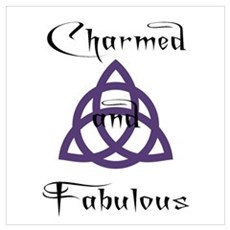 Charmed and Fabulous Triquetr Poster