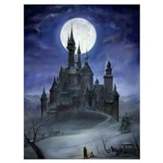 Gothic Castle Poster