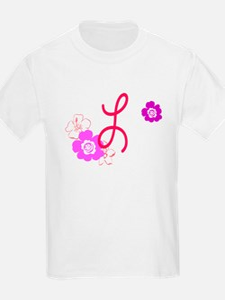 L Flowers T-Shirt