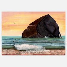 Haystack Rock Kiwanda Print