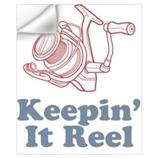 Keepin' It Reel Wall Decal