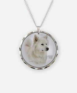 American Eskimo Dog Gifts Necklace