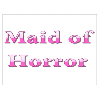 Maid of Honor (Horror) Canvas Art