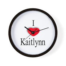 Kaitlynn Wall Clock