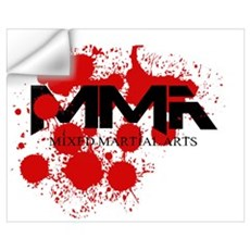 MMA Blood Splatter 01 Wall Decal