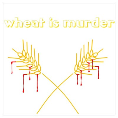Wheat Is Murder Poster