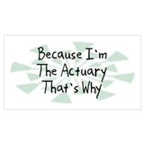 Actuary Posters