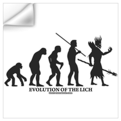 Evolution of the Lich Wall Decal