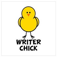 Writer Chick Poster