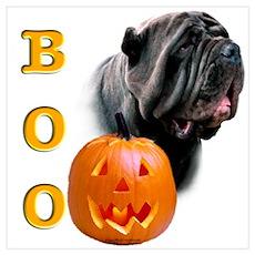 Halloween Neo Boo Poster