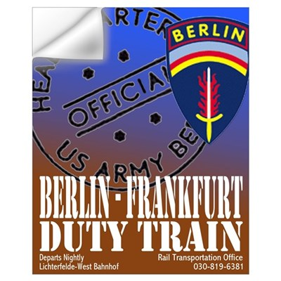 The Berlin to Frankfurt Duty Wall Decal