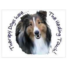 Therapy Animals Have the Heal Poster