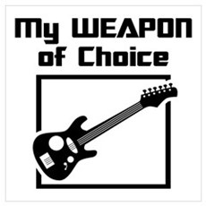 Musician - WeaponOfChoice Framed Print