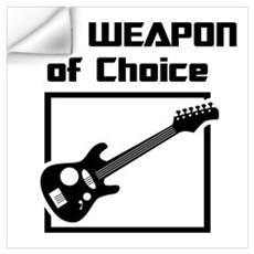 Musician - WeaponOfChoice Wall Decal