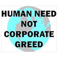 HUMAN NEED Poster