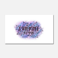 Twilight Junkie Car Magnet 20 x 12
