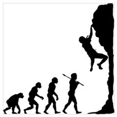Rock Climbing Poster