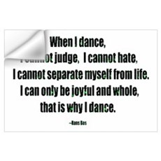 Why I Dance Wall Decal
