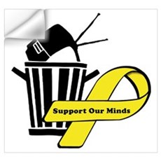 Support Our Minds Wall Decal