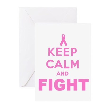 BREAST CANCER AWARENESS Greeting Cards (Pk of 10)