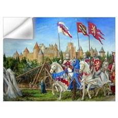 Siege of Carcassonne Wall Decal