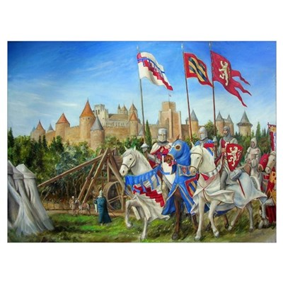 Siege of Carcassonne Poster