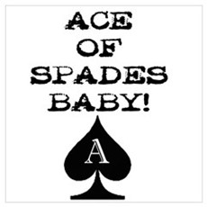 Ace of Spades Baby Poster