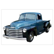 53 Chevrolet Pickup Truck Framed Print