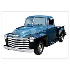 53 Chevrolet Pickup Truck Poster