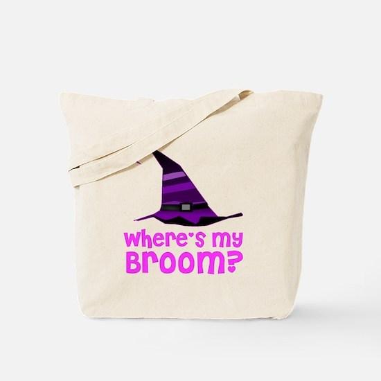 Where's my broom? Tote Bag