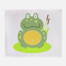 Freddy the Frog Throw Blanket
