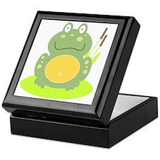 Freddy the Frog Keepsake Box