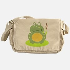 Freddy the Frog Messenger Bag