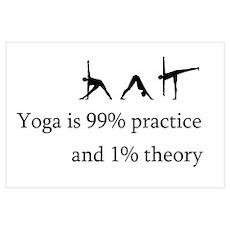 Yoga Practice Poster