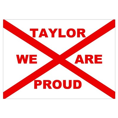 Taylor We Are Proud Poster