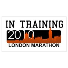 London Marathon - In Training Framed Print