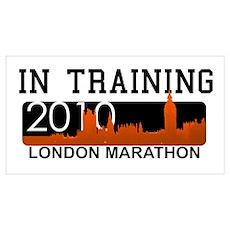 London Marathon - In Training Poster