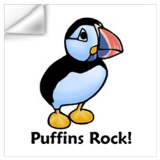 Puffins Rock! Wall Decal