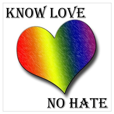 Know Love, No Hate Poster