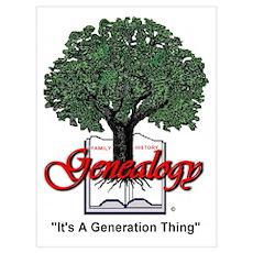 Genealogy Poster