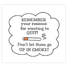 REASONS TO QUIT UP IN SMOKE Poster