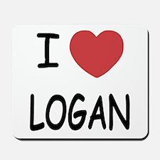 I heart Logan Mousepad
