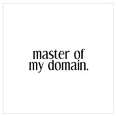 Master of My Domain Poster