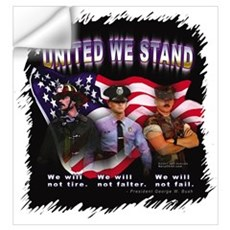 United We Stand Image Wall Decal